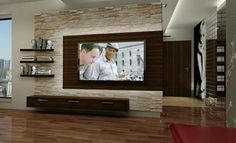 large tv walls - Google Search