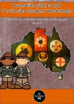 Here is a pack of worksheets for use with your students as they learn about the states and territories of Australia. This pack is perfect for making a workbook for your students to fill in as they learn about each state and territory.There is a page for each state, covering the floral and fauna emblem, climate, capital city, landmarks and natural features.Each state and territory is featured on a separate page so students can delve deeper into the geography of the place they currently…