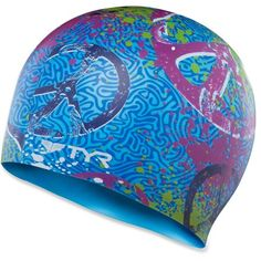 Tyr Unisex Love And Happy Silicone Swim Cap