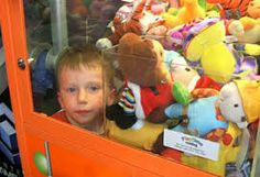 kid stuck in claw machine - Google Search