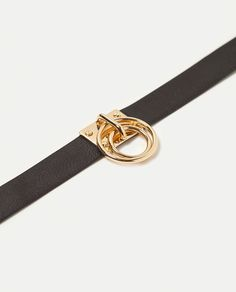 CHOKER WITH ROUNDED RINGS-NEW IN-WOMAN | ZARA Singapore