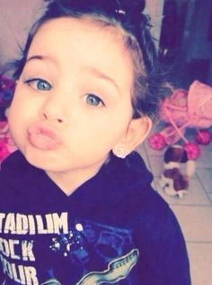 My future child all the way. Curly headed beauty