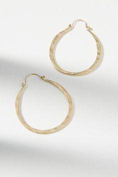 Slide View: 1: Pine Forest Hoop Earrings