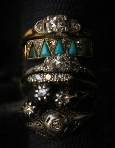 Vintage rings by della