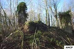 Chateau médiéval de Montfort sur Risle (Eure)