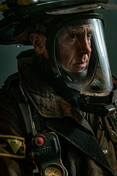 CHICAGO FIRE: A pensive Herrmann geared up and ready for action. | Shared by LION