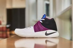 48ba67911d9 Find Nike Kyrie Irving 2 Huarache White White Black Bold Berry 819583 104  Mens Basketball Shoe online or in Nikelebron. Shop Top Brands and the  latest ...