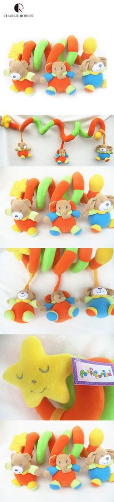 2015 New High Quality baby toy newborn infant mobile baby rattles baby stroller toys hanging cot beds kid toys gift plush HK594