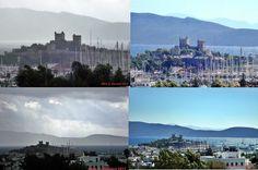 rainy and sunny days in (Bodrum Castle) - Bodrum/Mugla/TURKEY