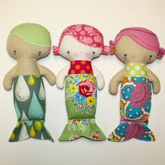 mermaid doll pattern soooooo cute