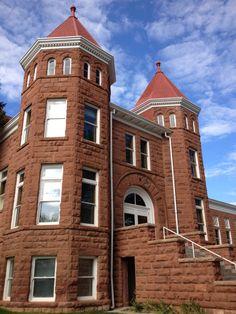 Old Main, Northern Arizona University, Flagstaff, Arizona, built in 1899.