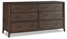 "Hudson 68"" Dresser, Tobacco 67.5""W x 23""D x 35""H $2,415"