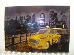 New York Painting 42cm x 30cm