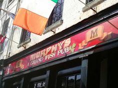 Murphy's Grand Irish Pub in Alexandria, VA is an Old World Irish Pub featuring a beautiful roaring fireplace. Serving robust Irish-American meals at fair prices