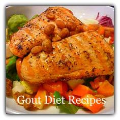 Find gout diet recipes for breakfast, lunch and dinner using natural, organic ingredients to get rid of your chronic gout. The Gout Killer can show you! Uric Acid Diet, Gout Diet, Gout Recipes, Cooking Recipes, Healthy Recipes, Healthy Meals, Yummy Recipes, Enchiladas, Purine Diet