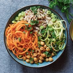 Rezepte Buddha Bowl mit Kichererbsen und Reis If you have been interested in being a fashion designe Vegetarian Recipes, Healthy Recipes, Vegan Nutrition, Vegetable Bowl, Food Bowl, Chia Pudding, Clean Eating, Easy Meals, Food And Drink