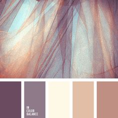 Color inspiration for design, wedding or outfit. More color pallets on color.romanuke.com