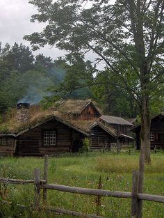 Old Norwegian Houses