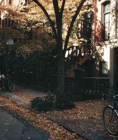 christiescloset:   Bikes and brownstones 🍂🗞 it's... - Uncensored