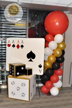 casino decor - Casino Decorations