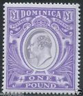 DOMINICA 1903 KEVII Unadopted Essay High Value £1 MNH High Quality Modern FAKE - http://stamps.goshoppins.com/commonwealth-british-colonial-stamps/dominica-1903-kevii-unadopted-essay-high-value-1-mnh-high-quality-modern-fake/