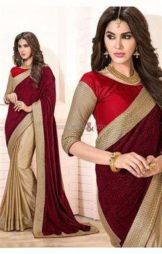 Choli style designs of sarees boat neck blouse pattern with lace online #Cholistyle #blousepattern #designersandyou