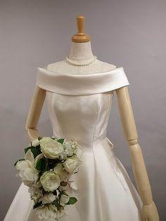 Couture yoshie dress シルク ウェディングドレス レンタル