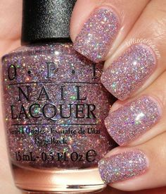 Definitely, your nails deserve all the attention. And spring nails designs and colors let you show off your lovey-dovey side. Essentially, when the season #nailpolishideas Fancy Nails, Cute Nails, Pretty Nails, Opi Nails, Manicure And Pedicure, Glitter Manicure, Polish Nails, Sparkle Nails, Glitter Nail Polish