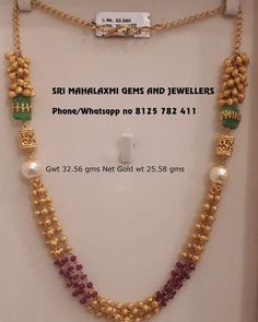Get the most different types of designs made with utmost care. visit us for best designs ready selection or made to order. contact no 8115 782 411 Pearl Necklace Designs, Jewelry Design Earrings, Gold Earrings Designs, Bead Jewellery, Beaded Jewelry, India Jewelry, Jewelery, Jewelry Necklaces, Gold Necklace