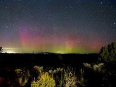 Bend Nights: A Photo Series; Northern Lights captured in Central Oregon