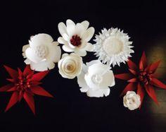 Large Paper Wedding Flowers,Wedding Arch,Wedding Decoration,Paper Flowers,Nursery Decoration,Birthday Decoration,Table Decor