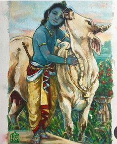 Radha Krishna Sketch, Krishna Drawing, Radha Krishna Pictures, Lord Krishna Images, Krishna Painting, Krishna Art, Shree Krishna, Radhe Krishna, Lord Krishna Hd Wallpaper
