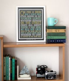Book Quote - do something like this with my favorite book quotes