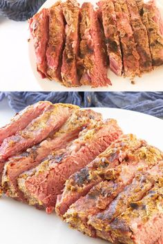 Corned Beef Brisket, Corned Beef Recipes, Irish Recipes, Keto Recipes, 4 Ingredients, Parsley, Kos, Instant Pot, Mustard