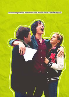 because things change. and friends leave. and life doesn't stop for anybody. l The Perks of Being a Wallflower
