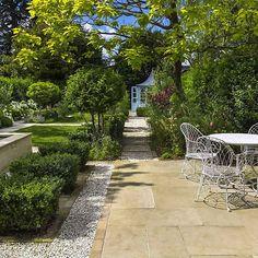 Elegant & Formal Garden Design shabby chic theme