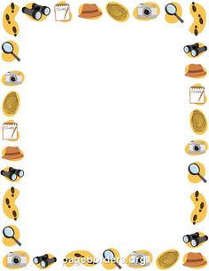 Free detective border templates including printable border paper and clip art versions. File formats include GIF, JPG, PDF, and PNG. Vector images are also available. Borders For Paper, Borders And Frames, Background Clipart, Background Pictures, Page Boarders, Detective Theme, Printable Border, Travel Clipart, Create Flyers