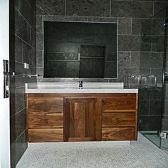 Image Result For Wooden Bathroom Vanity With Bowl Basin - Bathroom vanities made in america for bathroom decor ideas