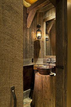 Rustic Bathroom Design 24