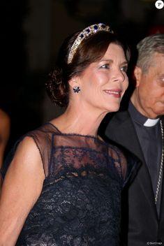 Caroline de Hanovre - Mariage du prince Albert et de Charlene de Monaco, le 2 juillet 2011.