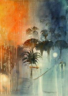 """Kazuo Kasai Gallery """"Midnight Storm"""""""