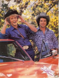 John Schneider & Tom Wopat (the Dukes of Hazzard)
