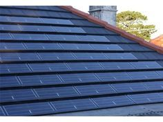 SolarTile Roof Tiles for Effective Solar Energy Solutions from Monier Roofing | Architecture And Design