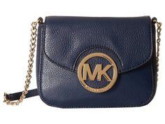 MICHAEL Michael Kors Fulton Small Crossbody Cross Body Handbags Navy 1 : One Size