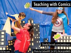 Explore ideas about how to have fun while #TeachingEnglish with comics.