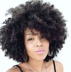 Eseewigs short wigs for black women Short Afro Kinky Curly 260 High Density 100 Brazilian Human Hair 14 inch None Lace Wig with bangs Pelo Natural, Natural Curls, Natural Hair Care, Natural Hair Styles, Natural Hair Accessories, Natural Hair Twists, Natural Hair Updo, Wedding Hair Accessories, Short Curly Afro