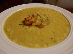 Kichererbsen-Blumenkohl-Curry Suppe   #rezept #vegetarisch #vegetarian #recipe #suppe