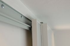 Captivating Ikea Pax Hack: Notice The Height Of The Screws Along The Top Track Allowing  The