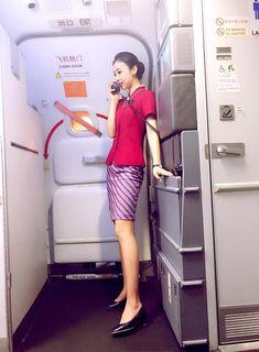 【China】 China Southern Airlines cabin crew / 中国南方航空 客室乗務員 【中国】 Air Hostage, China Southern Airlines, Airline Cabin Crew, Airline Flights, Flight Attendant, China China, Sexy, Seating Charts, How To Wear