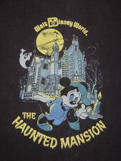 Walt Disney World: The Haunted Mansion Poster Disney, Vintage Disney Posters, Retro Disney, Vintage Cartoons, Disney Love, Disney Magic, Disney Disney, Vintage Disneyland, Disney Rides